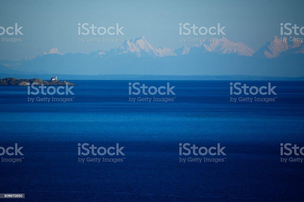 Esquimalt Lagoon, BC stock photo