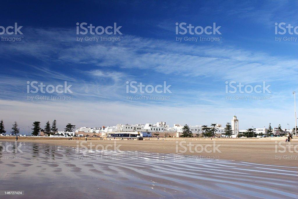 Essaouira Beach in Morocco foto