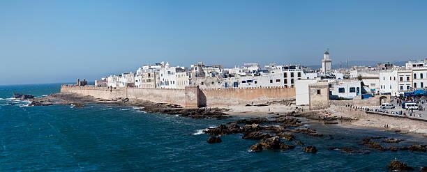 Essaouira VISTA PANORÁMICA - foto de stock