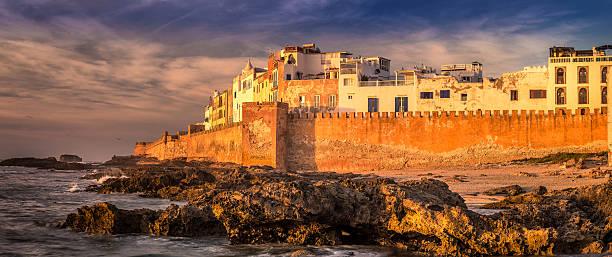 essaouira port - kasbah bildbanksfoton och bilder