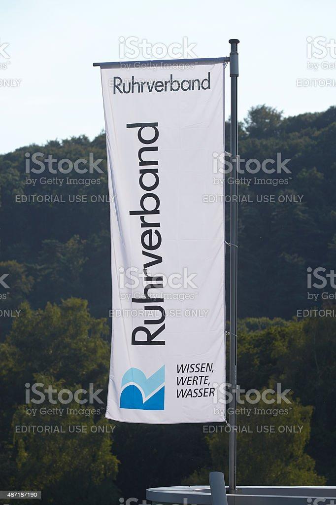Essen (Deutschland)-Flagge der Ruhrverband – Foto