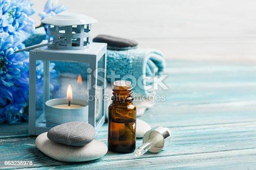istock Essential oil spa treatment 663238978
