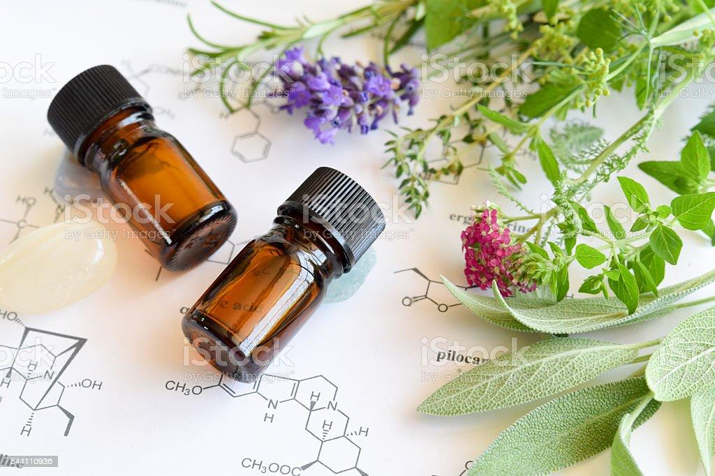 Ätherische Öle und Wissenschaft – Foto