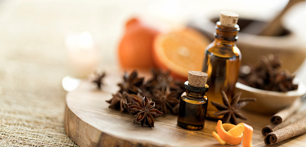 Essential Oils with Star Anise, Orange and Cinnamon