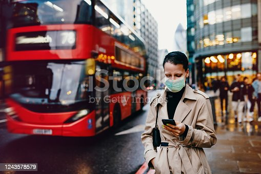 People around the world wearing face masks to protect themselves and others during Coronavirus pandemic