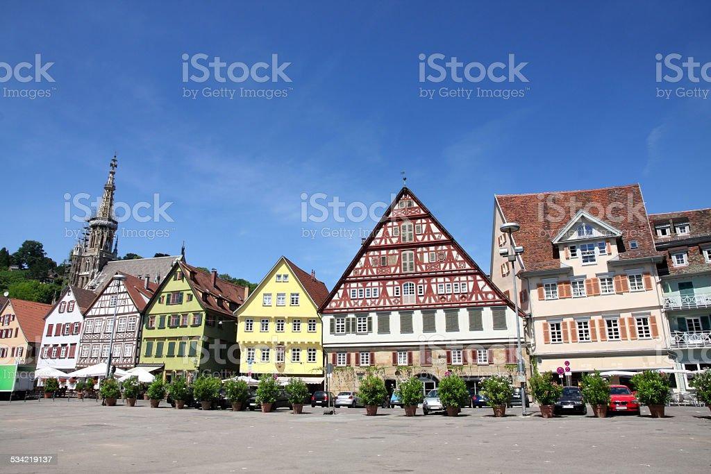 Esslingen am Neckar, Baden Wurttemberg, Germany stock photo