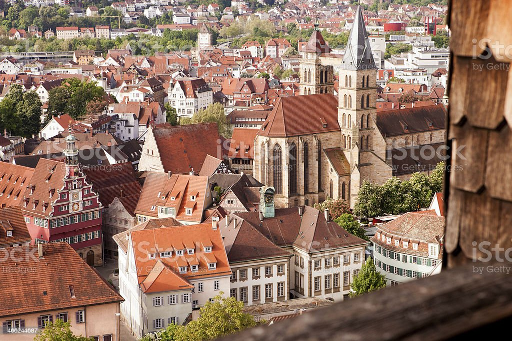 Esslingen am Neckar Germany stock photo