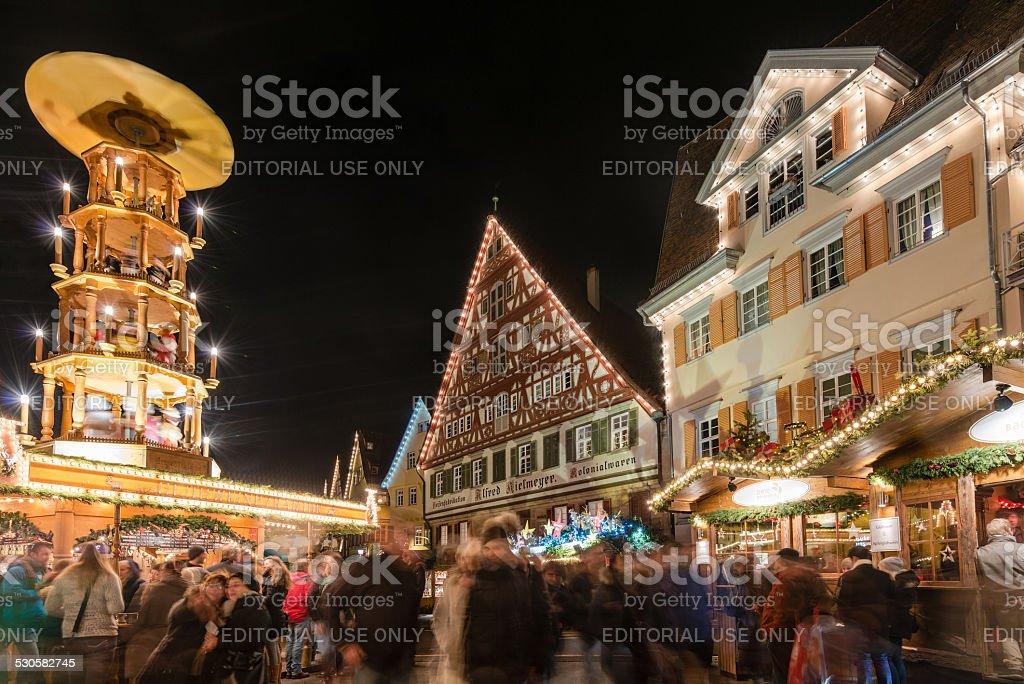 Esslingen Christmas Market stock photo