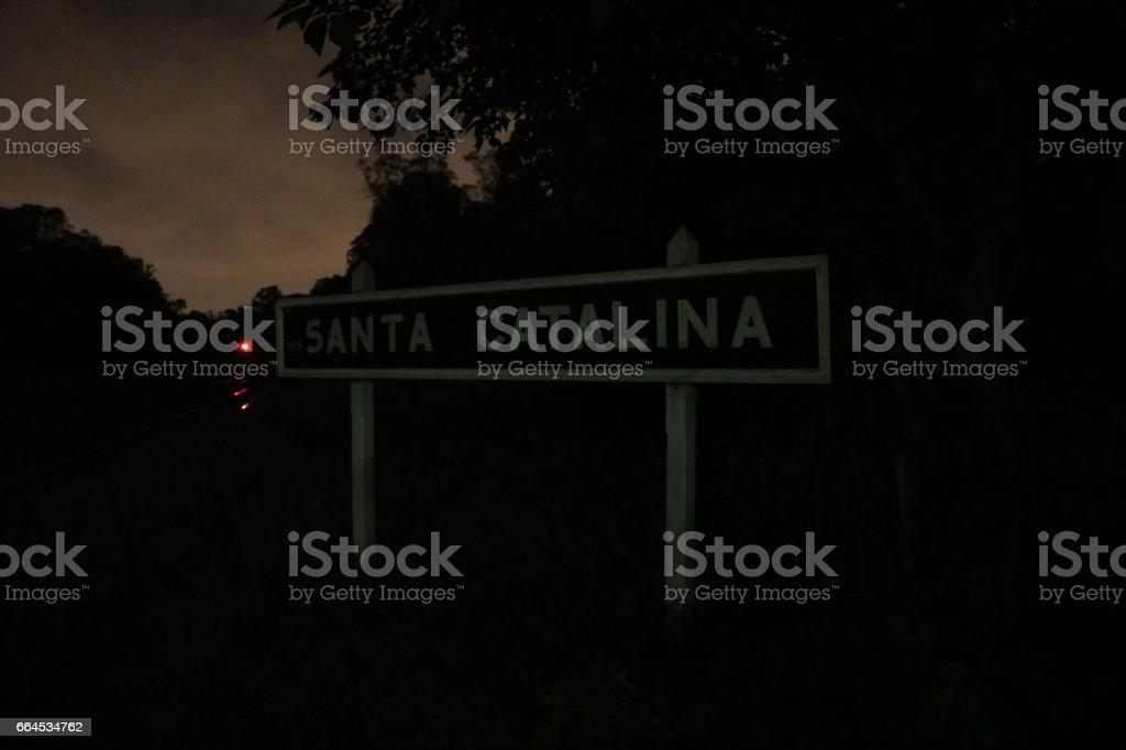 Estación Santa Catalina royalty-free stock photo