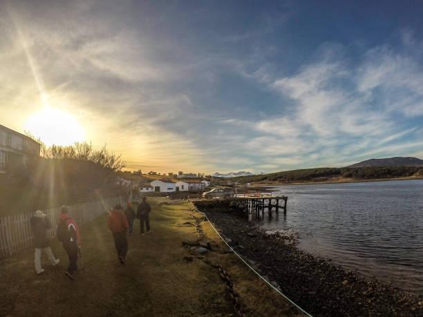 Estancia Harberton, Ushuaia, Argentina - foto de acervo