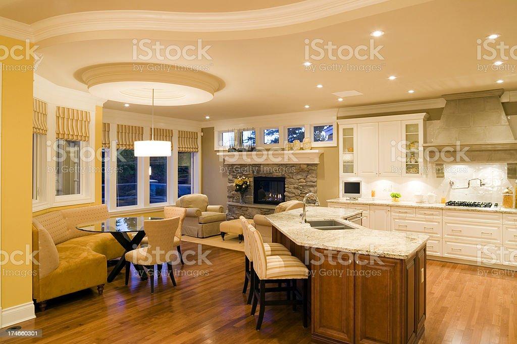 estate kitchen house stock photo