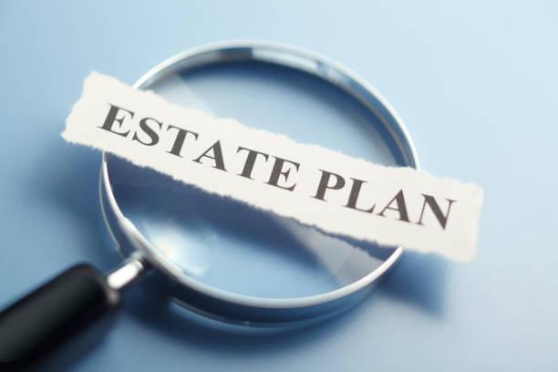 Estate Plan Concept – Foto