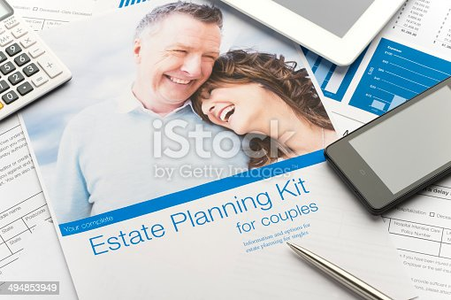 584597964 istock photo Estate planning document 494853949