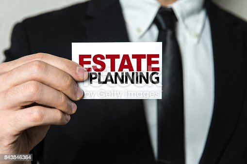 584597964 istock photo Estate Planning 843846364
