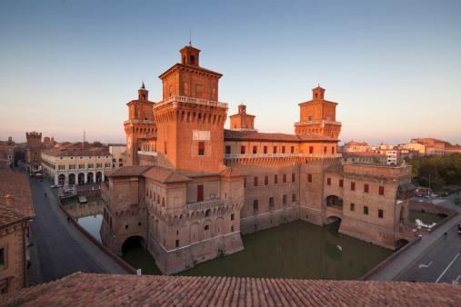 Estense Castle in Ferrara