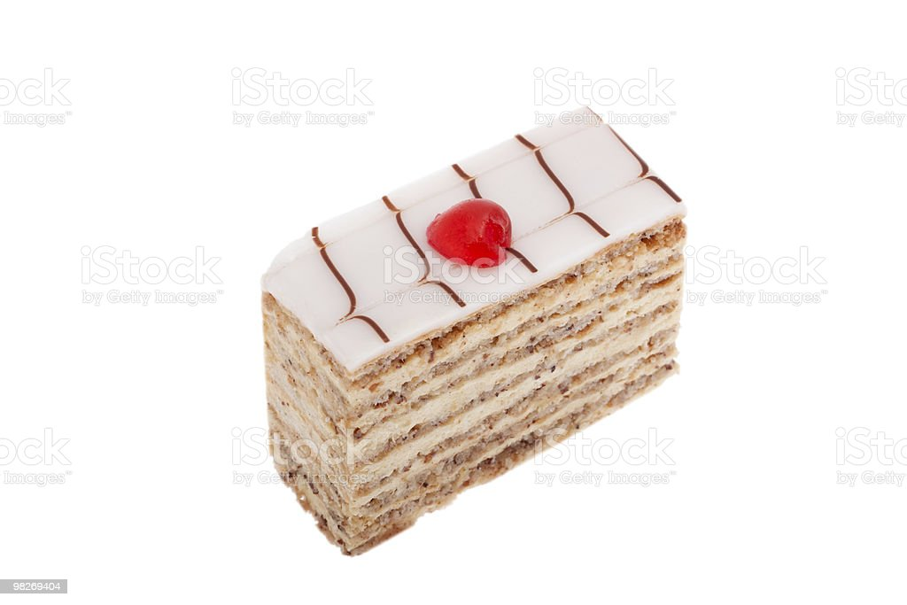 Esterhazy cake royalty-free stock photo