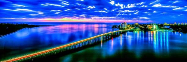 Estero Blvd, Ft Myers Beach stock photo