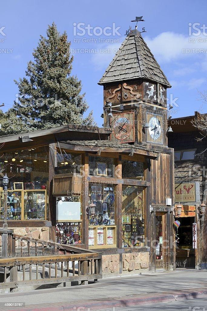 Estes Park, Colorado stock photo
