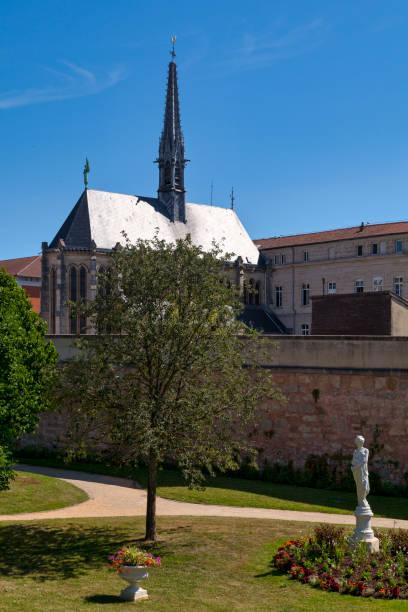 Estic Chapel in Saint-Dizier stock photo