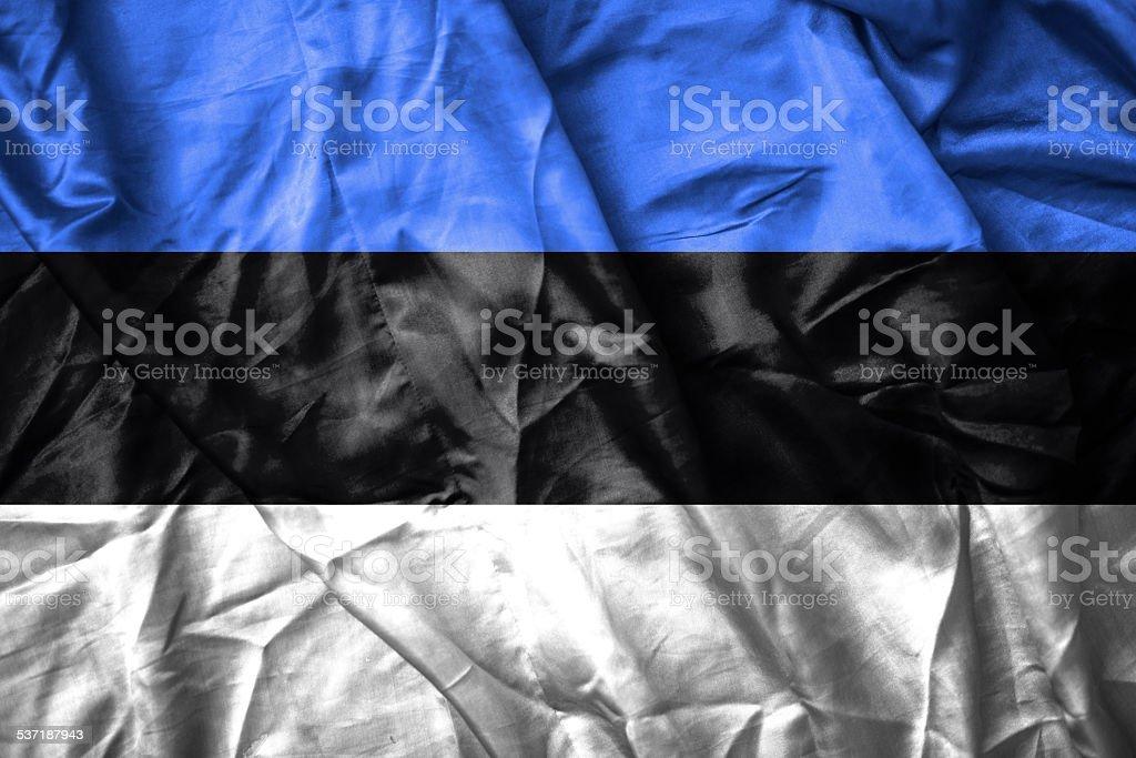 Estonia flag stock photo