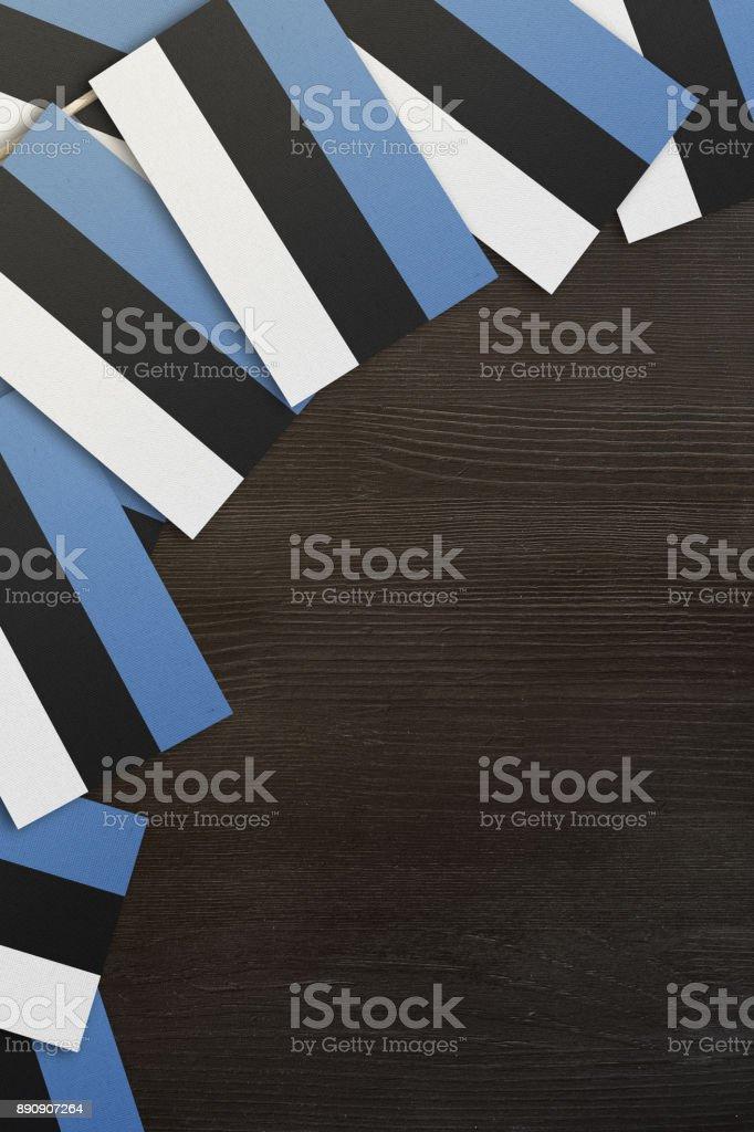 Estland Flagge Stock-Fotografie und mehr Bilder von Ansicht von oben ...