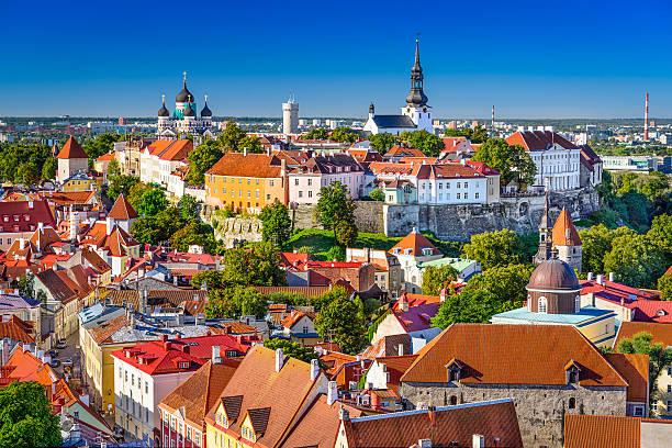 Estonie, Tallinn sur la ville - Photo