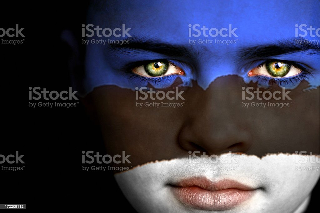 Estonian boy royalty-free stock photo
