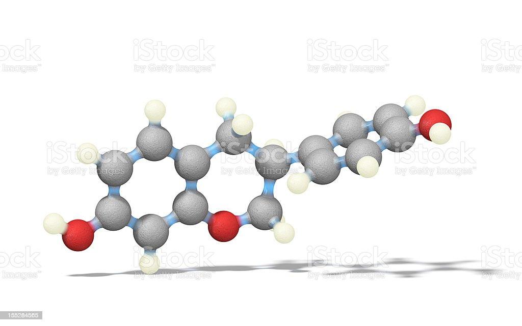 Equol de estrógenos - foto de stock