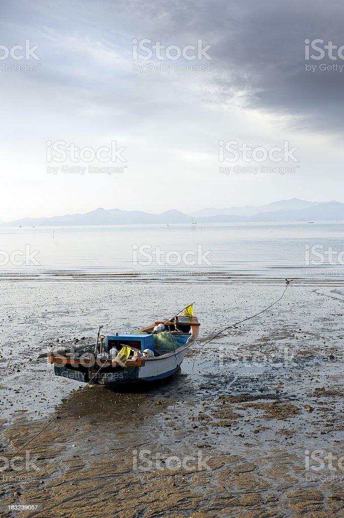 Estuary Dusk royalty-free stock photo