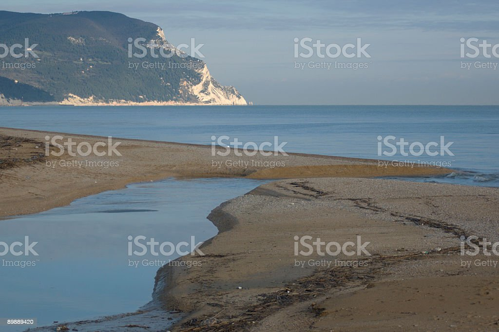 Estuario foto stock royalty-free