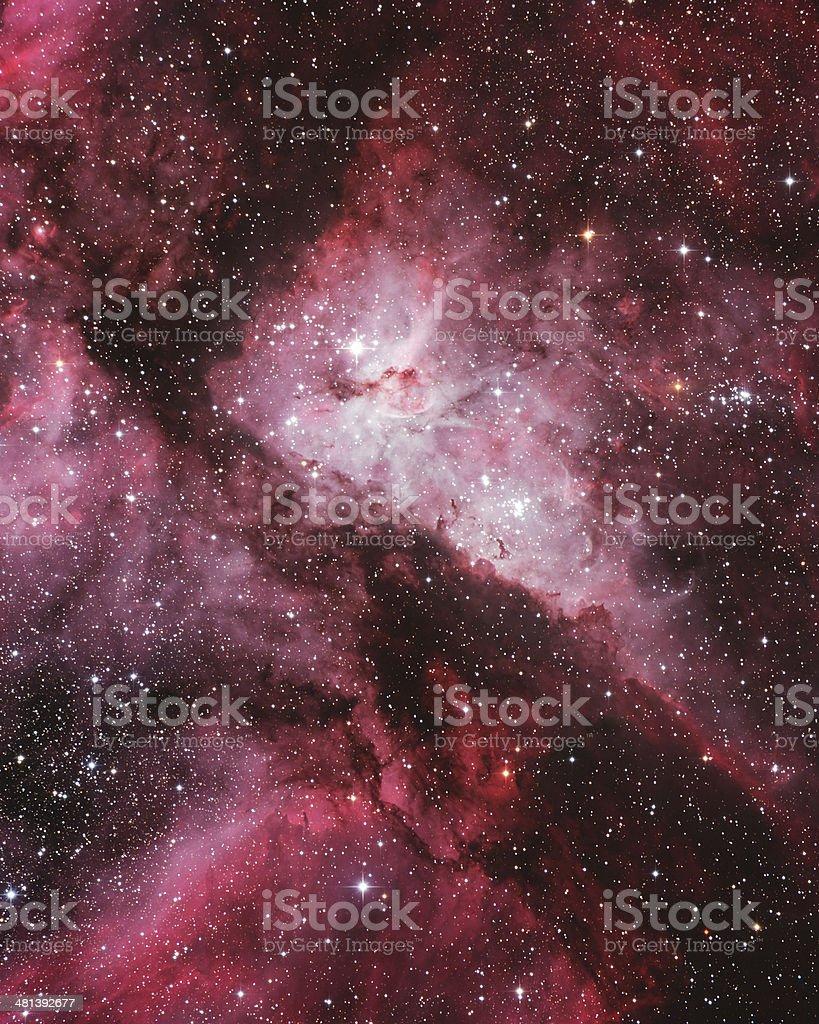 NGC 3372 Eta Carina Nebula stock photo