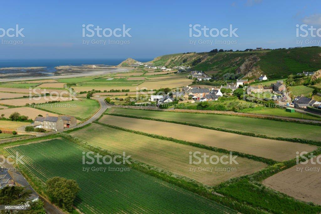 L'Etacq, Jersey, U.K. royalty-free stock photo