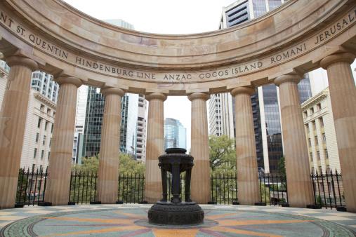 Eternal Flame, Anzac Square, Brisbane