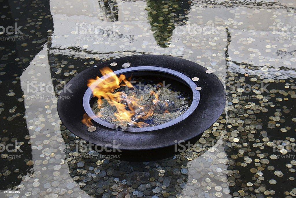 Eternal Flame-Канберра Стоковые фото Стоковая фотография