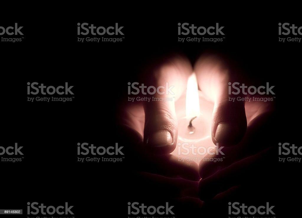 Eternal flame royalty-free stock photo