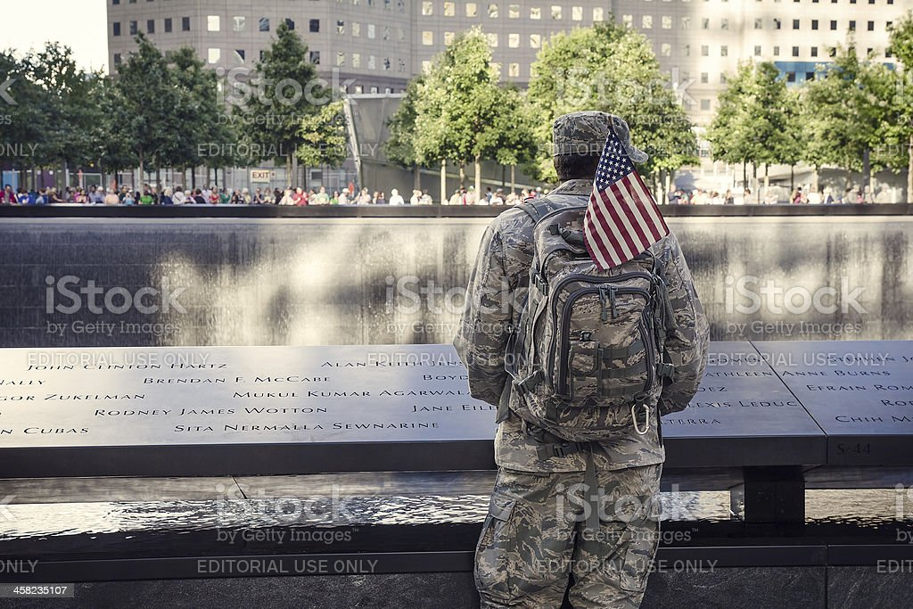 Eternal Memory to 9/11 victums royalty-free stock photo