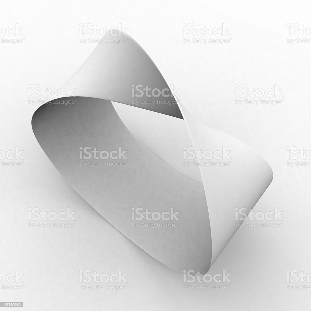 Eternity symbol royalty-free stock photo