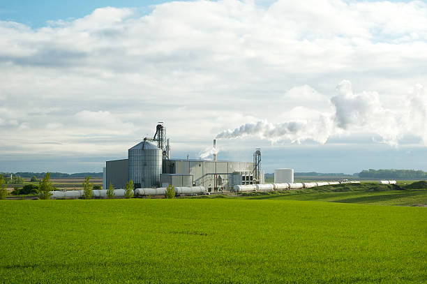 Ethanol Plant 2  biodiesel stock pictures, royalty-free photos & images