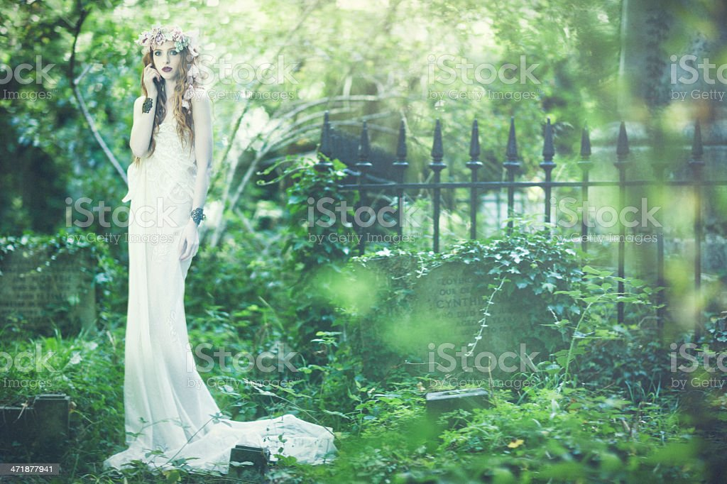 Ethereal girl royalty-free stock photo