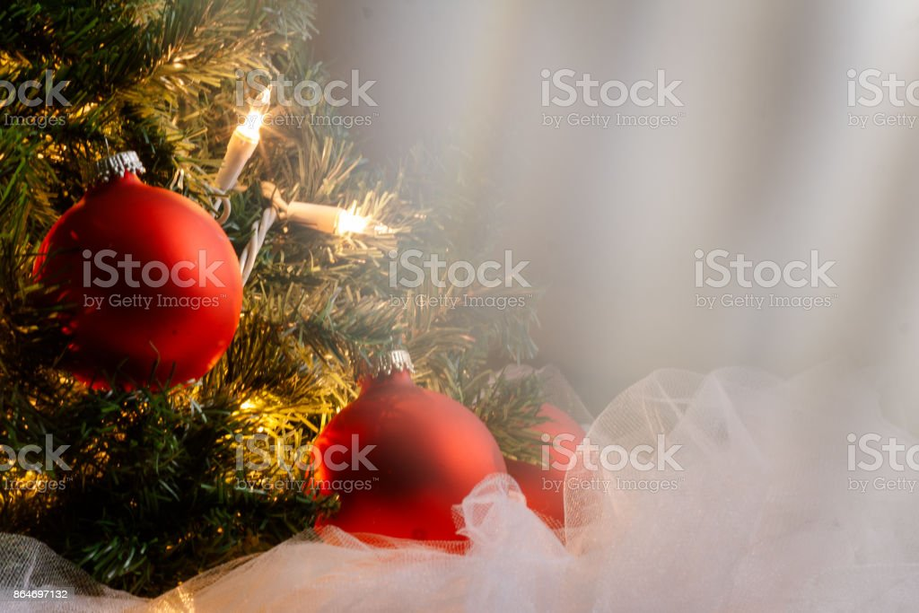 Ethereal Warm Christmas Tree Stock Photo More Pictures Of Bright