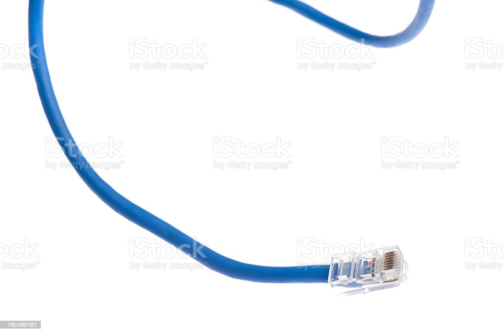 Ethernet cable royalty-free stock photo