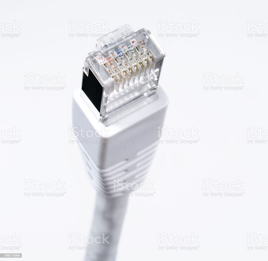 Ethernet network communication royalty-free stock photo