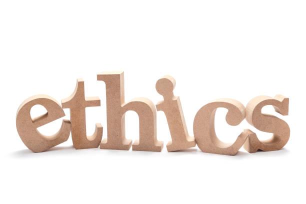 윤리 나무 단어 - 도덕성 뉴스 사진 이미지