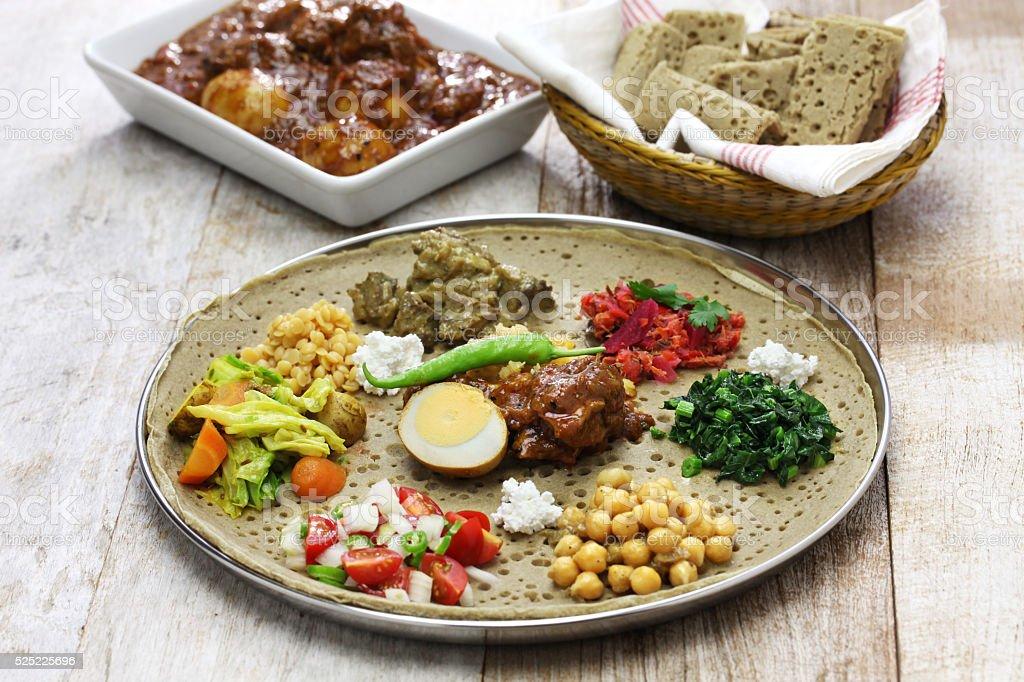 Etiopska kuchni – zdjęcie