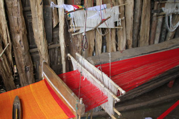 Ethiopian Loom stock photo