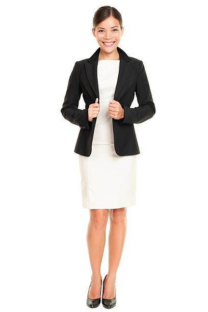 Ethnic Asian professional businesswoman stock photo