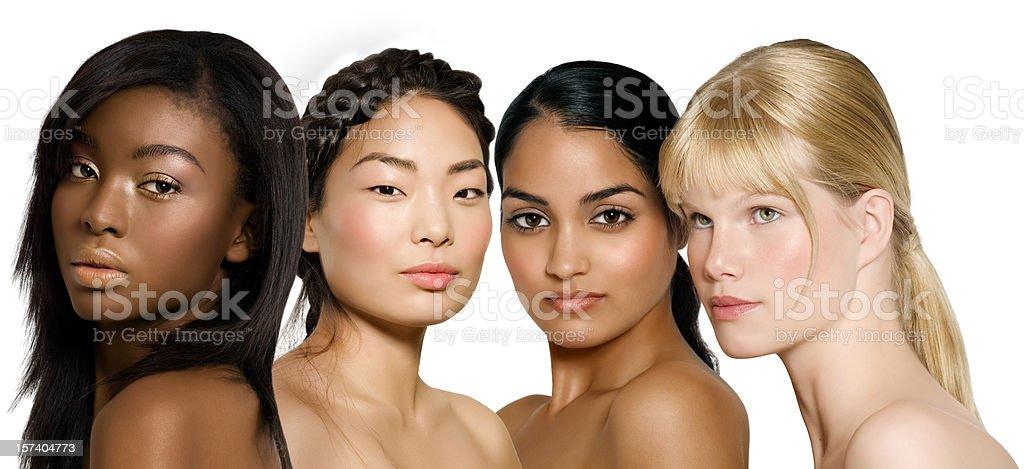 Ethnic Beauty royalty-free stock photo