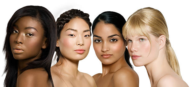 Ethnic Beauty stock photo