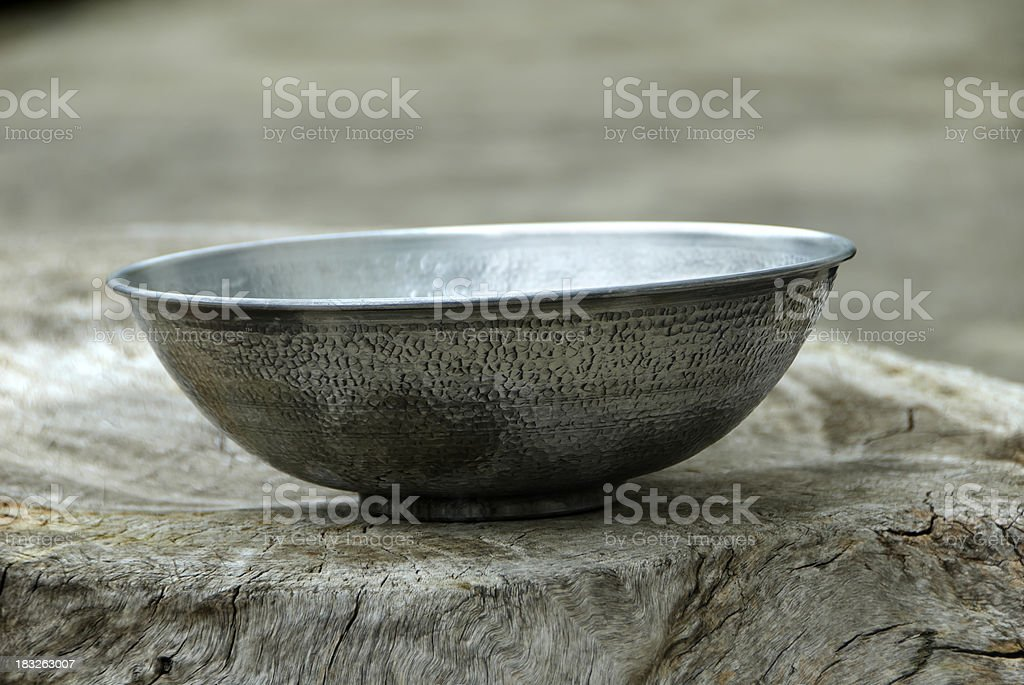 Ethnic bowl stock photo