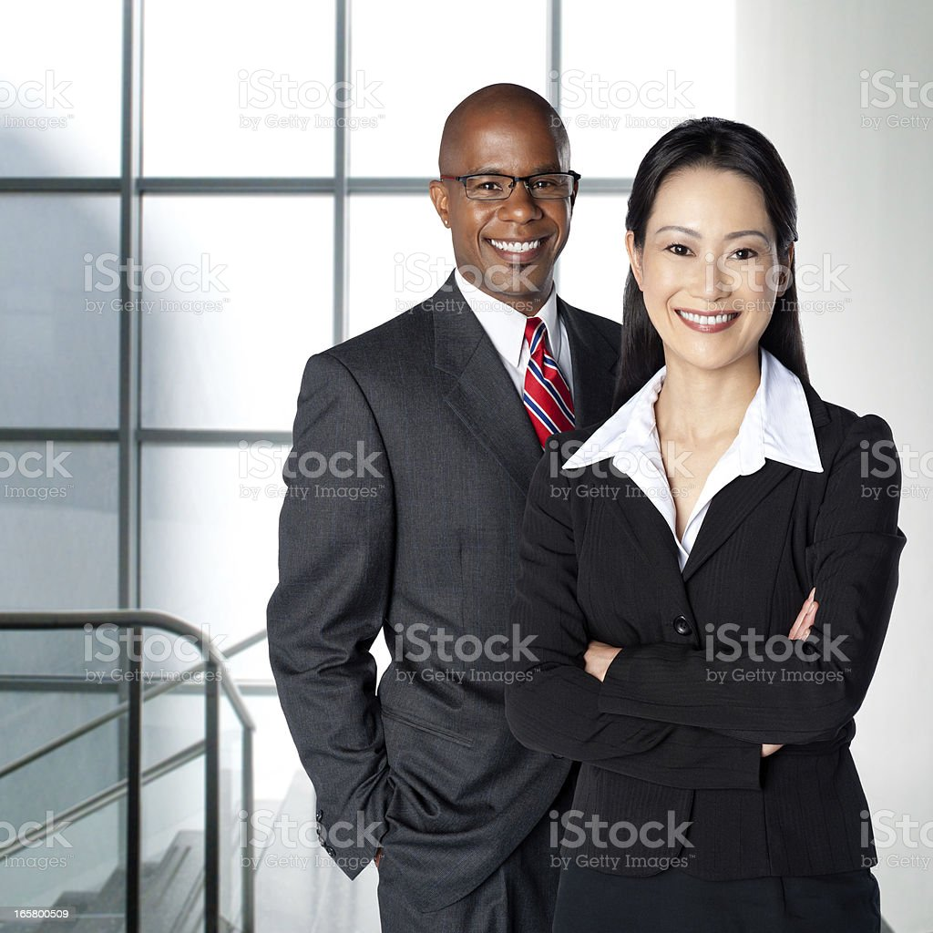 Ethnic Business Team royalty-free stock photo